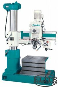 New Clausing Radial Drill 33 Arm 23 x17 x15 Table