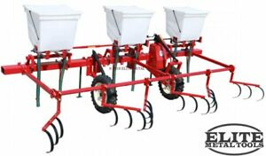 New Mechanical Transplanter Fsd 3 Triple Hopper Side Dresser