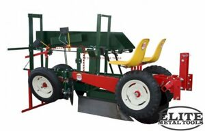 New Mechanical Transplanter 2000 Large Nursery Unit