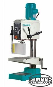 New Clausing 19 7 Drill Press Gh Manual Feed Bench Tapping Tm25rs