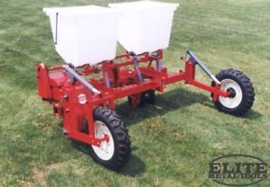 New Mechanical Transplanter Oe85 4x7 Four Row Fertilizer Attachment