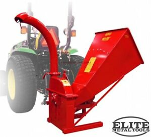 New Split fire 3 Point Hitch Pto Wood Chippers