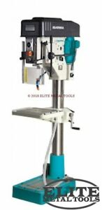 New Clausing 23 6 Drill Press With Step Pulley Manual Feed 3mt 1 2 1 8
