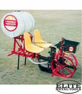 New Mechanical Transplanter 122 One Model 22 Series Unit