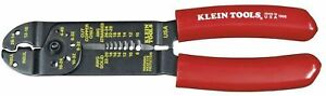 Klein Tools Wire Stripper Cutter Multi Purpose Tool 10 22 Awg Comfort Grip New