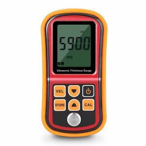 Ultrasonic Thickness Gauge Meter Tester Digital Metal Thickness Measuring Tool