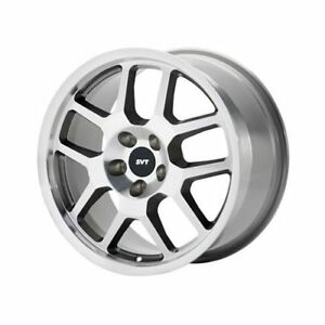 Ford Racing Silver 2007 2009 Mustang Svt Wheel 18 x9 5 5x4 5 Bc Set Of 2