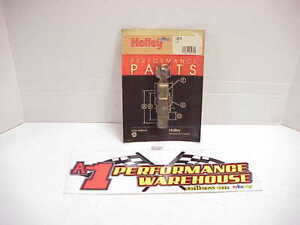 New Holley Brass Side Hung Float Part No 116 6 Nos In Sealed Package A62
