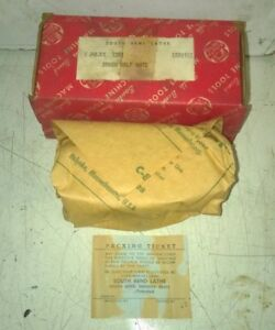 South Bend Heavy 10 Lathe Apron Half Nuts Nos Cat No As72r1 New Old Stock