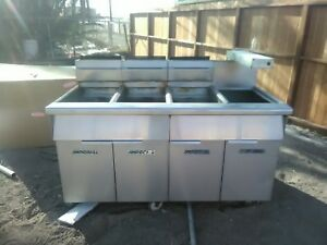 Imperial Range 50lb Fryer Automatic Filtration Model Ifs cb350
