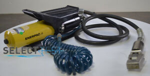 Enerpac Pa 136 Air Hydraulic Portable Power Pump And More look At Pictures