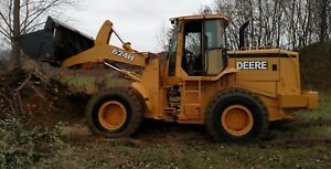 John Deere 624h Wheel Loader