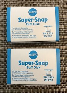 Shofu Super snap Buff Disks 2 Boxes Included