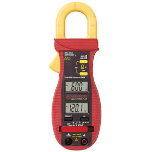 Amprobe Acd 14trms Plus 600a Clamp on Multimeter With Dual Display With Trms