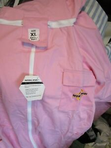 Natural Apiary Apiarist Beekeeping Suit Pink All in one Fencing Veil Nwt