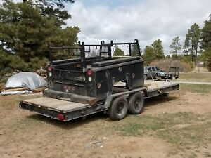 2001 Dodge Long Bed Utility Truck Bed Contractor s Service Body Plumber