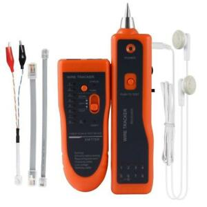 Ethernet Network Cable Tester Kit Rj11 Rj45 Cat5 5e Cat6 Lan Wire Tracker