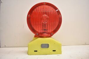 Empco lite Barricade construction Caution Safety Light Red Y2k X410a