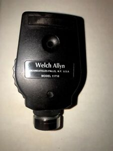 Welch Allyn Standard Ophthalmoscope Head Model 11710