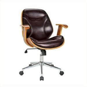 Bowery Hill Office Chair In Brown