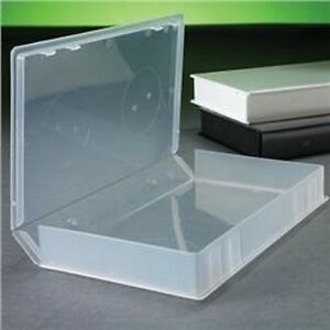 100 New Clear Pencil Box case W outer Sleeve School Supply Psv14