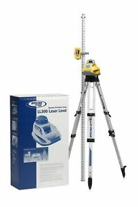 Spectra Precision Laser Ll300 1 Automatic Self leveling Laser Level 10 inch