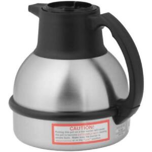 64 Oz Deluxe Thermal Carafe Black stainless Steel Vacuum Insulation 36029 0001
