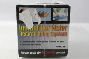 Watts 500800 Hot Water Recirculating System With Built in Timer Water Pump