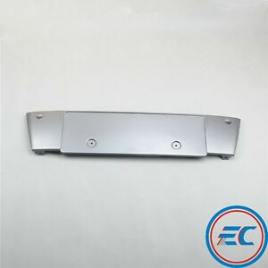 Front Silvery Gray Paint License Plate Frame Holder For Audi A8 A8 Quattro 06 10