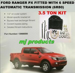 Ford Ranger Px 6 Speed 6r80 Automatic Transmission Oil Cooler Kit 3 5 Ton