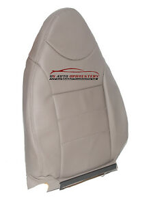 2002 2003 2004 Ford Escape Driver Lean Back Synthetic Leather Seat Cover Tan
