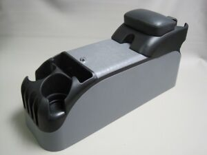 Gray Center Console With Black Upholstered Armrest 2000 2005 Impala 9c1 Police