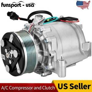 A C Ac Compressor For Honda Civic 1 8l 2006 2007 2008 2009 2010 2011