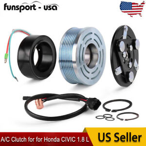 For Honda Civic 06 11 A C Compressor Ac Clutch Assembly Repair Kit