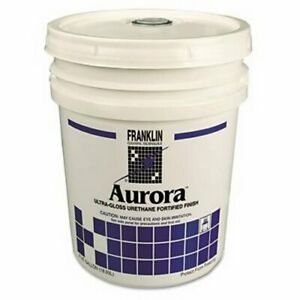 Franklin Aurora Floor Finish Wax 5 gallon Pail frk F137026
