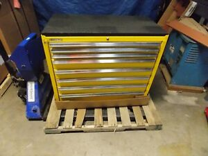 Kennedy 8 Drawer Steel Roller Cabinet 39 3 8 X 42 X 20 Model 3900mpyw Repair