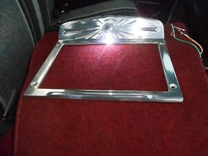 Ford Chevy Dodge Car Truck hot Rod Universal Aluminum Step Plates Lighted