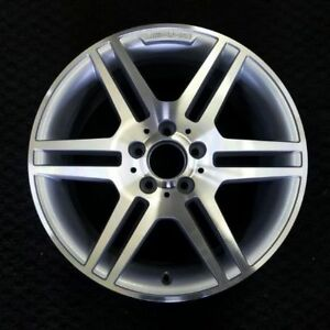 17 08 11 Mercedes Benz Amg C Class C300 C350 Front Oem Factory Wheel Rim 65529