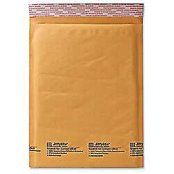 Sealed Air Self seal Bubble Mailers 14 1 4in X 20in Kraft Case Of 50
