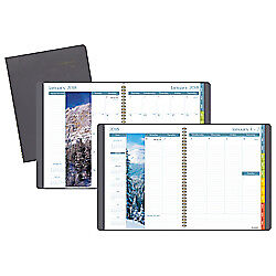 At a glance r Dayminder r Weekly monthly Planner With Columns 8 1 4in X 10