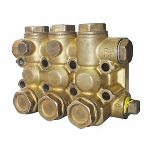 Manifold In Brass 18mm Type Ez 4412 0441 Interpump