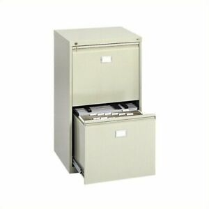 Scranton Co 2 Drawer Vertical Metal File Cabinet In Tropic Sand