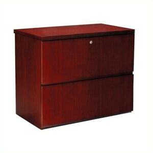 Scranton Co 2 Drawer Lateral Wood File Cabinet In Cherry Finish