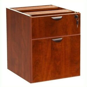 Scranton Co Lateral Wood Hanging File Cabinet In Cherry