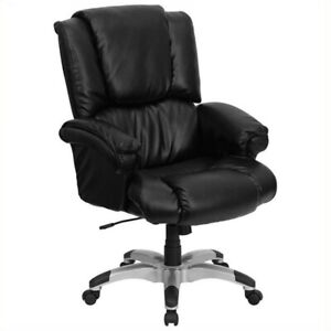 Scranton Co High Back Leather Executive Office Chair In Black