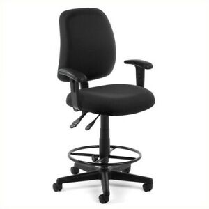 Scranton Co Posture Task Drafting Office Chair With Arms And Drafting Kit I