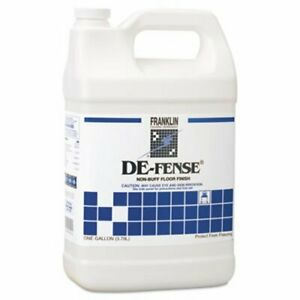 De fense Non buff Floor Wax 4 Gallons fklf135022