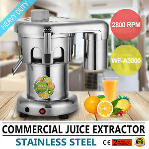 Commercial Juice Extractor Stainless Steel Juicer Heavy Duty Wf a3000 High Grade