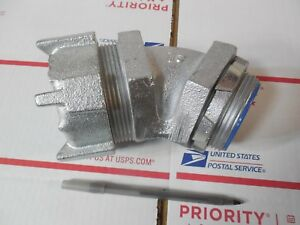 Lot Of 4 New T B 2 1 2 Sealtite 45 Degree Elbow Fitting 147 Conduit Fitting