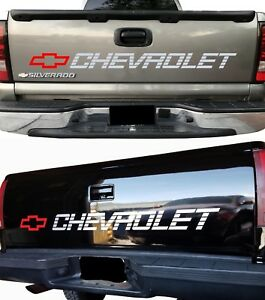 Tailgate Stickers Chevrolet Bed Vinyl Graphics Vehicles Window Tailgate Decals